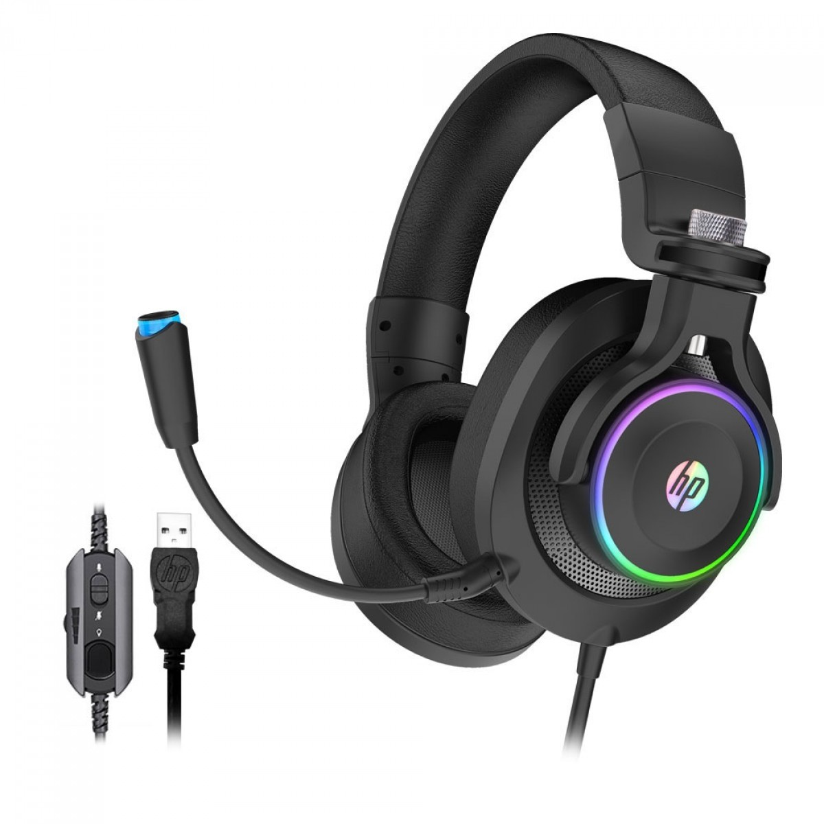 Headset Gamer HP 7.1 USB H500GS