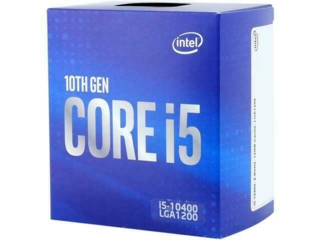 Processador Intel Core i5 10400 Comet Lake BX8070110400