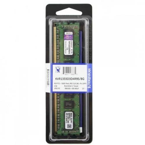Memoria Kingston 8GB DDR3 1333 Mhz  Reg KVR1333D3D4R9S/8G