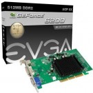 Placa de Video AGP Evga 512 MB Geforce 6200 512-A8-N403-LR