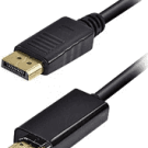 Cabo Display Port X HDMI Tblackrox 1,8m Cod:1.170.116