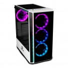 Gabinete Gamer Redragon Grapple White Vidro GC-607WH