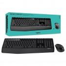 Teclado e Mouse Logitech MK345 Wireless Cod: 920-007821