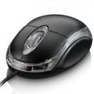 Mouse PS2 Multilaser Classic Preto 800 DPI MO030