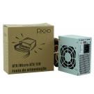 Fonte Pixxo 200W  Mini SFX 20+4P PL200WRPBG
